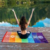Yoga Beach Towel Tapestry Wall Hanging Sandy