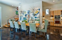 Bowman - contemporary - dining room - austin - by Bryant Hill Media