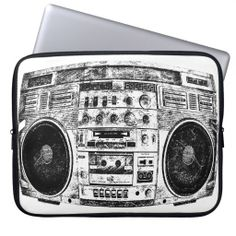 Boombox graffiti computer sleeve http://www.zazzle.com/boombox_graffiti_computer_sleeve-124663153567491801?rf=238194283948490074&tc=pfz #funny #graffiti #boombox #cool #vintage #music #80s #street #swag #hipster #fun #ipad #1980 #instrument #geek #neoprene #computersleeve #zazzle