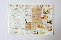 献立ノートの書き方④まとめと写真の印刷編 | ぽんたのーと