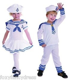 22b40d2cce202 sailor costume for bryden Kids Costumes Girls, Toddler Costumes, Nautical  Outfits, Girls Party