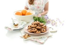 Galletas de arándanos, chocolate y coco | Velocidad Cuchara