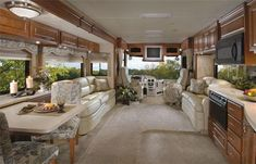 Luxury RVs   Let's get a ride in Our Dream Motorhome!!...