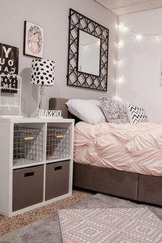 Bedroom Ideas For Girls Bedrooms Along With Dark Color Schemes