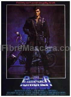 The Punisher (1989) Frank Castle, a veteran cop who loses his entire family to a Mafia car bomb. Only his ex-partner believes Castle survived the blast to become THE PUNISHER...a shadowy, invincible f