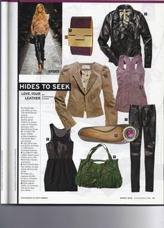 Chicago Magazine featuring our Wide Eggplant Stingray Cuff