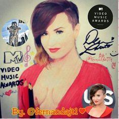 Drawing demi Lovato!! By Fernanda Dupeyron Demi Lovato, Music Videos, Drawings, Beautiful, Sketches, Sketch, Drawing, Portrait, Draw