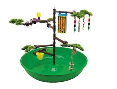 Super Pet Playtime Activity Center for Parakeets and Cockatiels