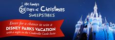 I just entered the 25 Day of Christmas Sweepstakes and showed my #DisneySide. Show yours!
