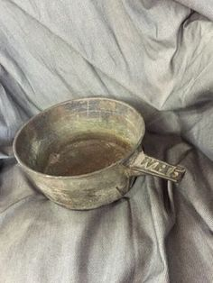 Old pot in Terrell, TX (sells for $45)