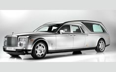 Rolls-Royce Phantom Hearse  No...you still cant' take it with you.♥