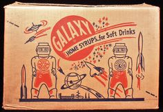 Galaxy Syrup packaging