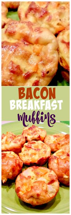 Bacon Breakfast Muffins via @OCRaquel