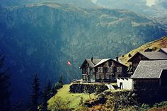 Swiss farm house