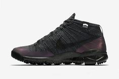 Nike Unveils a Water Repellent and Iridescent Flyknit Trainer Chukka FSB