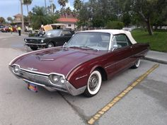 1961 Ford T-Bird convt. 390hpr rarest and most saught after T-Bird Ford made!