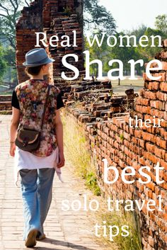 Real women, real travelers, real solutions for safe solo female travel