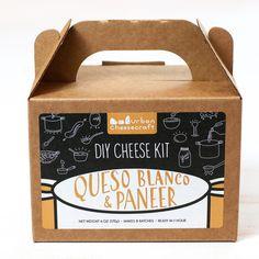 Urban Cheesecraft DIY Kit · Paneer & Queso Blanco - Shop Andrew Zimmern - Food  - 1