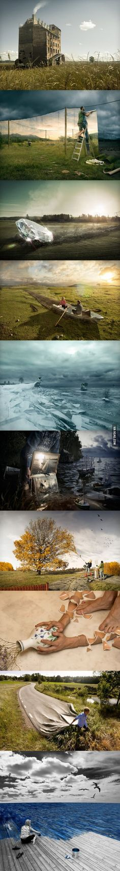 One of my favorite photo retouch artists ever - Erik Johansson