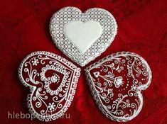 Valentine Cookies, Christmas Cookies, Cookie Decorating, Decorating Ideas, Gingerbread, Xmas, Sweet, Desserts, Food