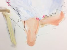 This is a study of a girl reclining. It is oil and pastel and turpentine on paper. Good paper, stuff that doesn't bleed - maybe next time I want it to. Studio, Paper, Painting, Art, Art Background, Painting Art, Kunst, Paintings, Performing Arts