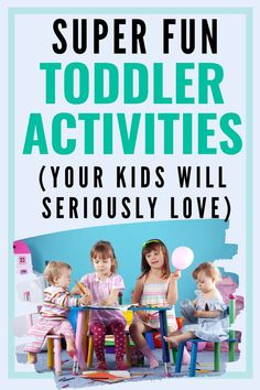 Lots of toddler activities that are easy to put together from things around your home. These activities include indoor and outdoor suggestions that should last 30 to 45 minutes! #toddlerfun #toddler #toddleractivity #toddleractivities Early Head Start, Toddler Language Development, Outdoor Activities For Toddlers, Toddler Age, Parenting Toddlers, Sensory Play, Baby Love, Preschool, Indoor