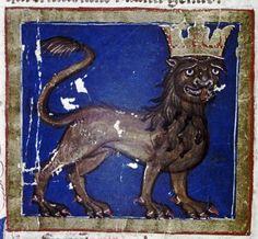 A 14th-century Italian King of Cats (MS Lyell 71)