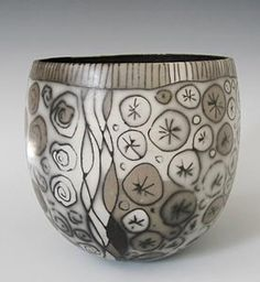 Nicola Richards | burnished smoked earthenware