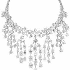 Chopard Red Carpet collection, Diamond Necklace, © Chopard