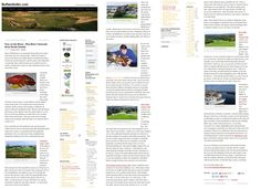 Discover the seafood and golf near Yarmouth NS Canada published in Buffalo Golfer