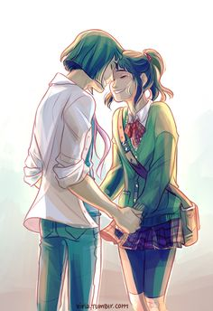 Haku and Chihiro eventually meet after all those years :3