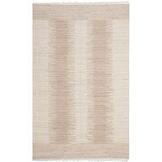 Safavieh Montauk Collection MTK752A Hand-Woven Area Rug, 8-Feet by 10-Feet, Beige Cotton Safavieh