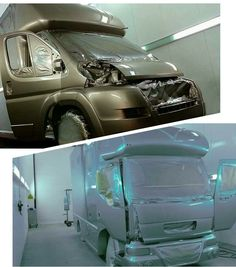 It's a busy time for our commercial spray shop. For enquiries please email from our website Contact Us page -  www.kevinparkerhorseboxesltd.co.uk/contact-us/ #KPHLTD #HorseHour #horseboxes #horseboxesforsale