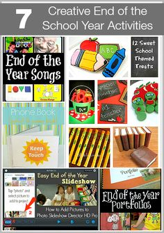 7 Creative End of the School Year Activities