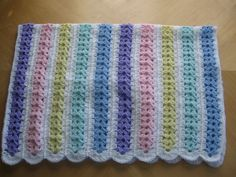 Ravelry: Mile A Minute Baby Afghan (archived) pattern by Caron International Yarns