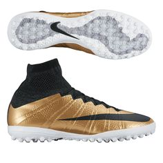 f150ee93b 119.95 Add to Cart for Price- Nike MercurialX Proximo TF Turf Soccer Shoes  (Metallic Gold Grain Challenge Red Black)