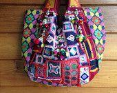 Vintage Hmong tote bag ethnic handmade Tribal door LavishLanna
