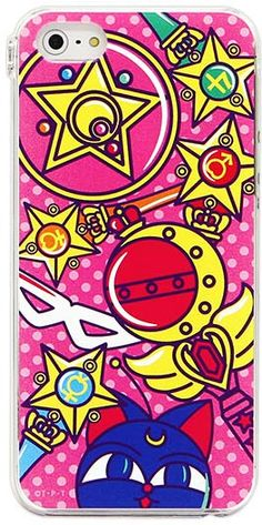 Official Bandai Premium Japanese Sailor Moon Harjuku Pop Cell Phone / Mobile Phone Cover for iPhone 4/4S, iPhone 5, Galaxy SIII / S4 http://www.moonkitty.net/reviews-buy-sailor-moon-phone-cases-straps-charms.php #SailorMoon