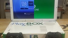 This is what a combined Xbox One/Playstation 4 laptop looks like