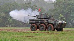 Panser Badak buatan Pindad Indonesia.