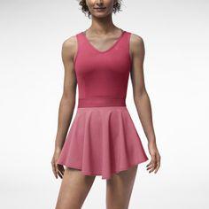 Nike Heathered V-Neck Women's Tennis Dress
