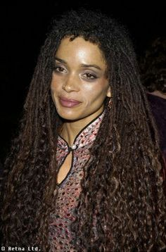 lisa bonet curly locs