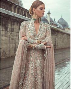 "3,224 Likes, 16 Comments - Pakistan Vogue (@pakistanvogue) on Instagram: ""Absolutely breathtaking Bridal attire ""Samarkand"" Collection by Sania Maskatyia #pakistanvogue…"""