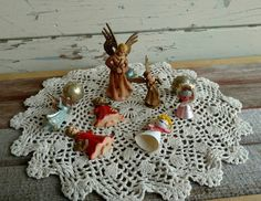 Check out this item in my Etsy shop https://www.etsy.com/listing/494810925/mid-century-angel-christmas-ornaments
