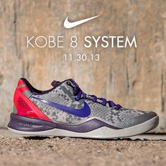 best website 4364c 3d24f Available 11 29 13- Nike  Kobe 8 System