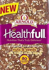 Arnold healthfull Nuts and Seeds bread vegetarian and halal verified 02/15/2016 1-800-984-0989