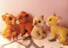 How Many Of These '90s Girl Toys Did You Own. We bought the kissing Simba and Nala for a friend's birthday party and I remember being so upset because I wanted one too!