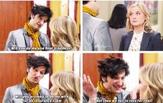 Aww, poor Jean-Ralphio always loved Leslie... and she always knew