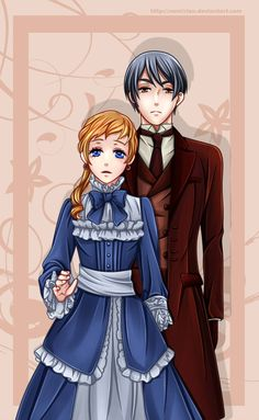 Rachel and Vincent by namisiaa