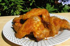 Hooters Buffalo Wings Oven Style Easy - Hot Wings that come out of the oven crispy without the hassle of deep frying.
